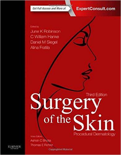 Surgery of the Skin: Procedural Dermatology, 3rd Edition-Original PDF