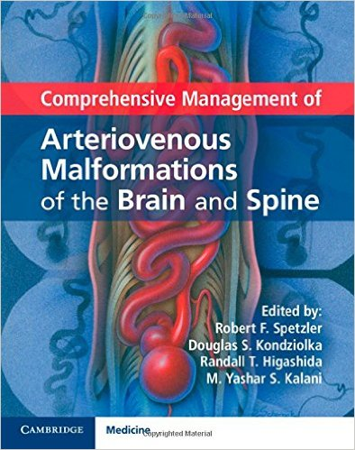 Comprehensive Management of Arteriovenous Malformations of the Brain and Spine (Publisher Version PDF)