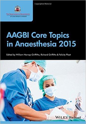 AAGBI Core Topics in Anaesthesia 2015 – Original PDF