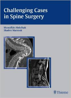 Challenging Cases in Spine Surgery - Original PDF