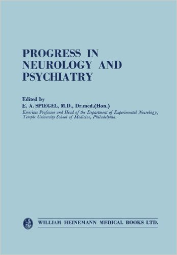 Progress in Neurology and Psychiatry: An Annual Review (Publisher Version PDF)
