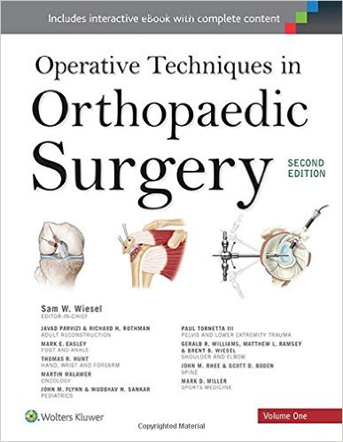 Operative Techniques in Orthopaedic Surgery (Four Volume Set) Second Edition – EPUB