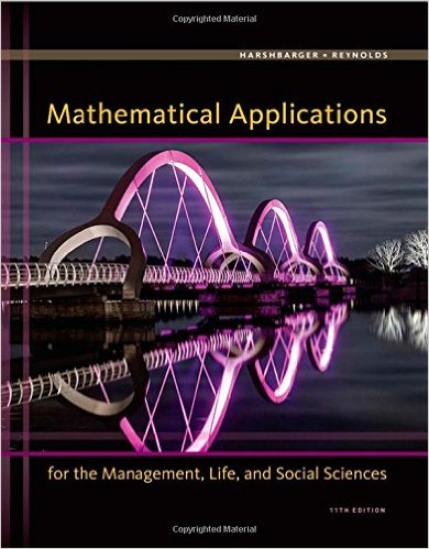 Mathematical Applications for the Management, Life, and Social Sciences 11th Edition - Original PDF