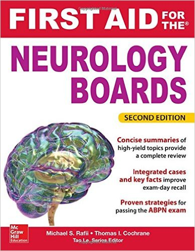 First Aid for the Neurology Boards, 2nd Edition - EPUB