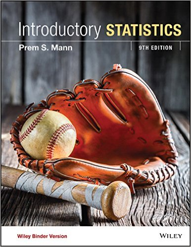 Introductory Statistics, 9th Edition - Original PDF