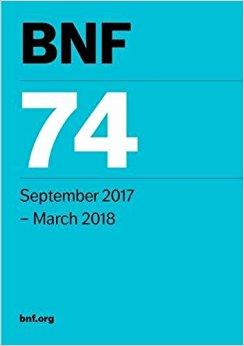 BNF 74 (British National Formulary) September 2017-Original PDF