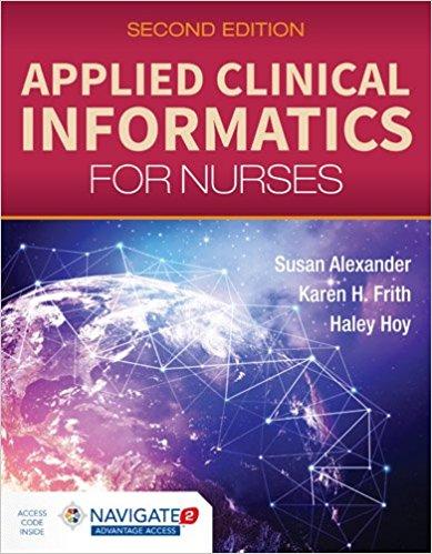 Applied Clinical Informatics for Nurses 2nd Edition-Original PDF