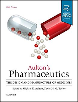 Aulton's Pharmaceutics: The Design and Manufacture of Medicines, 5e-High Quality PDF