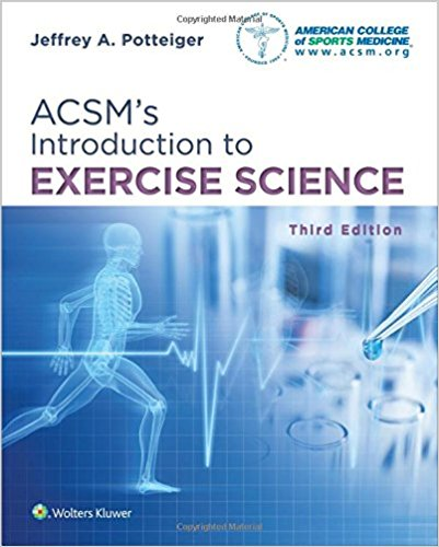 ACSM's Introduction to Exercise Science 3rd Edition-High Quality PDF