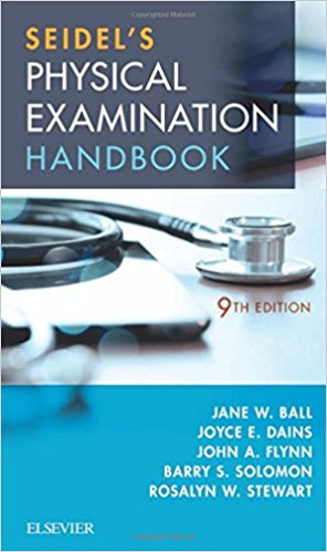 Seidel's Physical Examination Handbook: An Interprofessional Approach, 9e (Mosbys Physical Examination Handbook)-Original PDF