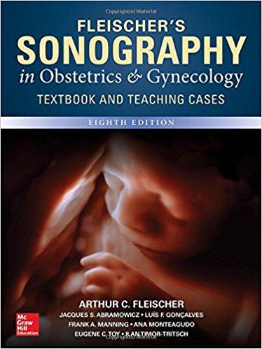Fleischer's Sonography in Obstetrics & Gynecology, Eighth Edition-Original PDF+Videos