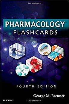 Pharmacology Flash Cards, 4e-Original PDF