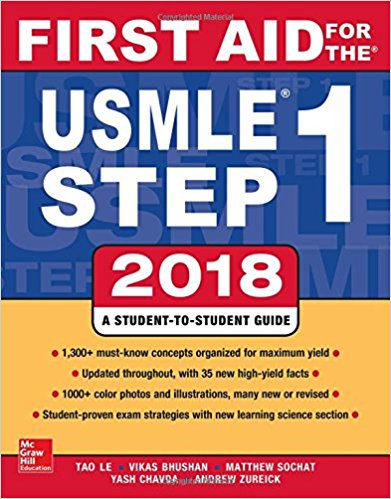 First Aid for the USMLE Step 1 2018, 28th Edition-Original PDF