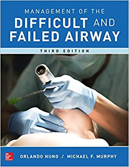 Management of the Difficult and Failed Airway, Third Edition-High Quality PDF