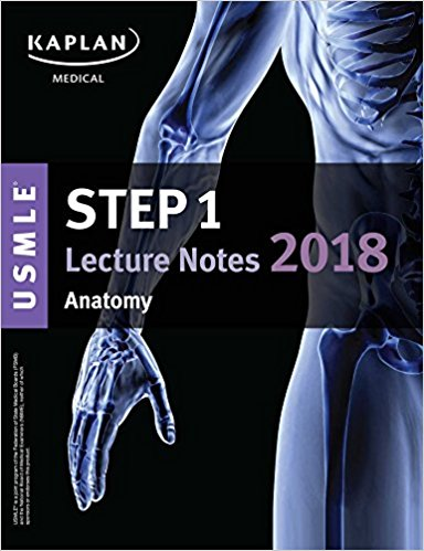 USMLE Step 1 Lecture Notes 2018: Anatomy (Kaplan Test Prep)-EPUB