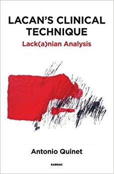 Lacan's Clinical Technique: Lack(a)nian Analysis-Original PDF