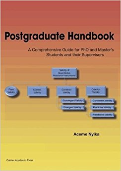 Postgraduate Handbook: A Comprehensive Guide for PhD and Master's Students and their Supervisors-Original PDF
