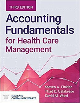 Accounting Fundamentals for Health Care Management 3rd Edition-Original PDF