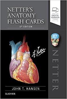 Netter's Anatomy Flash Cards, 5e (Netter Basic Science)-Original PDF