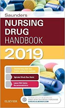 Saunders Nursing Drug Handbook 2019, 1e-Original PDF