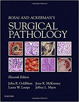 Rosai and Ackerman's Surgical Pathology - 2 Volume Set, 11e-Original PDF