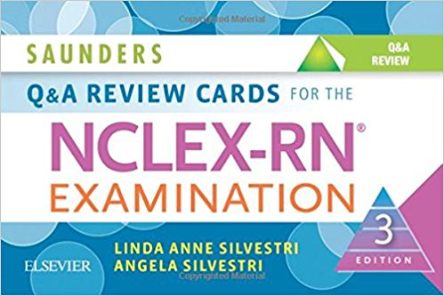 Saunders Q & A Review Cards for the NCLEX-RN® Examination, 3e-Original PDF