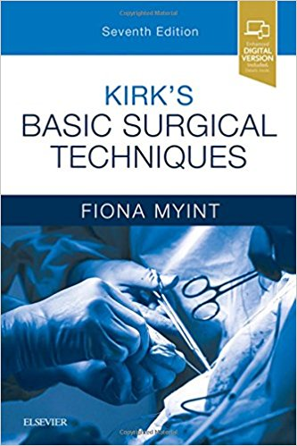 Kirk's Basic Surgical Techniques, 7e-Original PDF