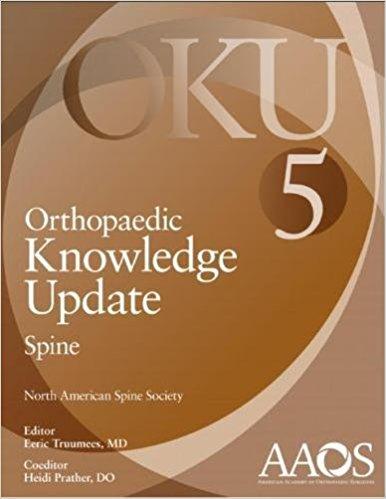 Orthopaedic Knowledge Update: Spine 5-Original PDF+All AAOS Spine Videos