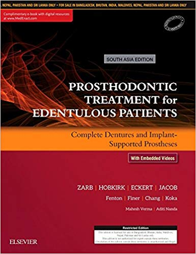 Prosthodontic Treatment for Edentulous Patients: Complete Dentures and Implant-Supported Prostheses, 13e-Original PDF