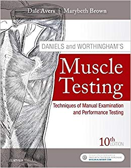 Daniels and Worthingham's Muscle Testing: Techniques of Manual Examination and Performance Testing 10th Edition-Original PDF