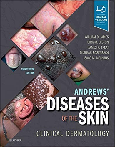 Andrews' Diseases of the Skin: Clinical Dermatology 13th Edition-Original PDF