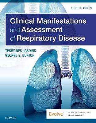 Clinical Manifestations and Assessment of Respiratory Disease 8th Edition-Original PDF