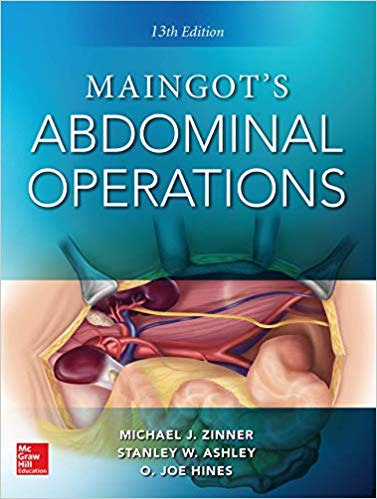 Maingot's Abdominal Operations. 13th edition-Original PDF
