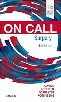 On Call Surgery: On Call Series 4th Edition-Original PDF