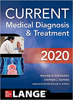 CURRENT Medical Diagnosis and Treatment 2020, 59th Edition-Original PDF