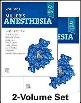 Miller's Anesthesia, 2-Volume Set 9th edition-EPUB