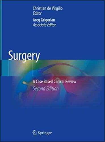Surgery: A Case Based Clinical Review 2nd ed. 2020 edition-Original PDF
