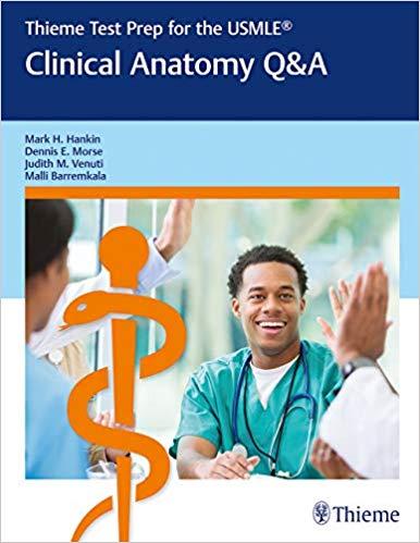 Thieme Test Prep for the USMLE®: Clinical Anatomy Q&A-Original PDF