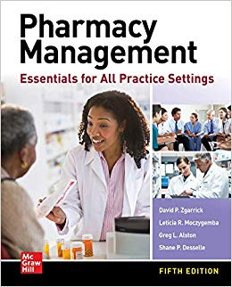 Pharmacy Management: Essentials for All Practice Settings, Fifth Edition-Original PDF