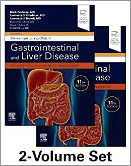 Sleisenger and Fordtran's Gastrointestinal and Liver Disease- 2 Volume Set: Pathophysiology, Diagnosis, Management 11th Edition-Original PDF+Videos