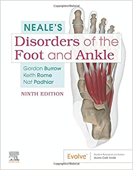 Neale's Disorders of the Foot and Ankle 9th Edition-Original PDF