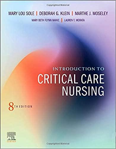 Introduction to Critical Care Nursing 8th Edition-Original PDF