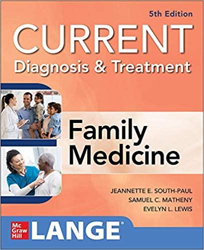 CURRENT Diagnosis & Treatment in Family Medicine, 5th Edition-Original PDF
