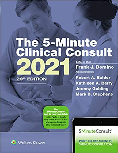 5-Minute Clinical Consult 2021 (The 5-Minute Consult Series) 29th Edition-EPUB