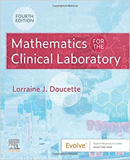 Mathematics for the Clinical Laboratory 4th Edition-Original PDF