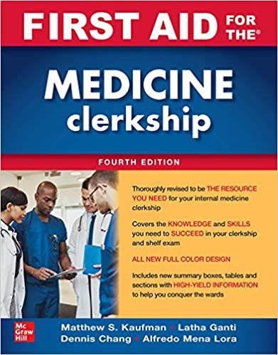 First Aid for the Medicine Clerkship, Fourth Edition-Original PDF