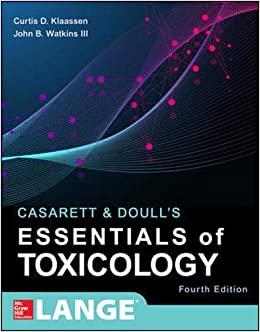 Casarett & Doull's Essentials of Toxicology, Fourth Edition (Casarett and Doull's Essentials of Toxicology)-Original PDF