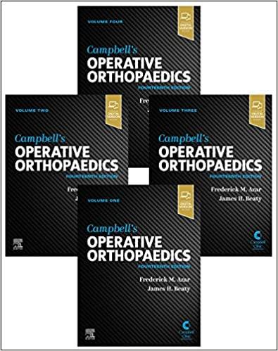 Campbell's Operative Orthopaedics, 4-Volume Set 14th Edition-Retial PDF