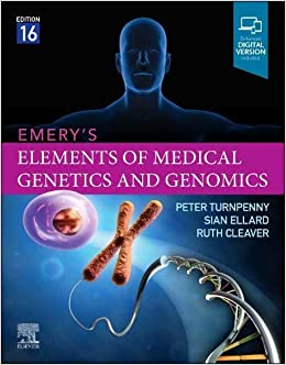 Emery's Elements of Medical Genetics and Genomics 16th Edition-Original PDF