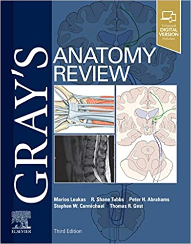 Gray's Anatomy Review 3rd Edition-EPUB+AZW+Converted PDF